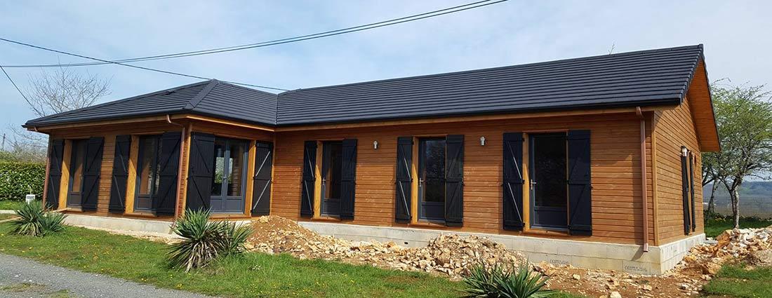 Construction de maison en bois Sarlat-la-Canéda